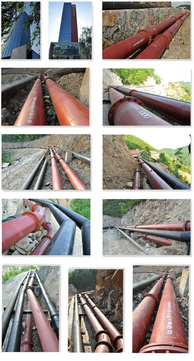 陶瓷耐磨管客户案例:河南永煤集团龙宇矿业公司