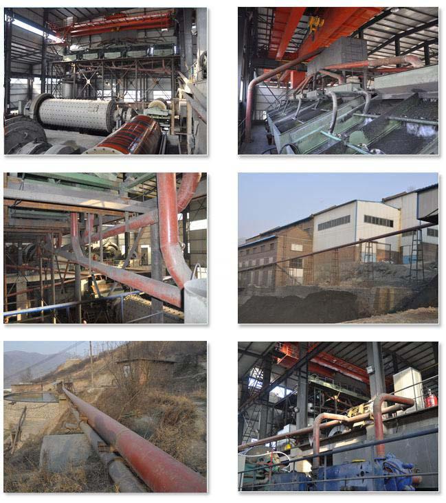 陶瓷耐磨钢管工程案例:山西代县张仙堡矿业有限公司