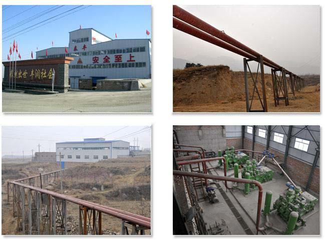 陶瓷复合钢管工程案例:山西泰丰矿业2#尾矿输送管道